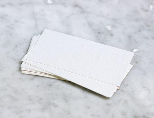 Assurer la conformité déontologique de votre carte professionnelle